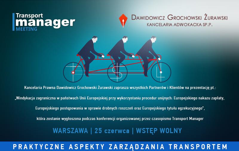 szkolenie prawne dla firm transportowych